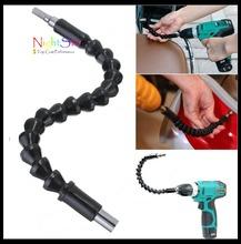 Electronics Drill Black 295mm Flexible Shaft Bits Extention Screwdriver Bit Holder