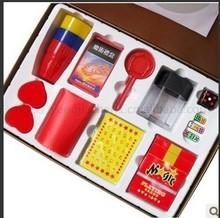 Caja mágica / regalos de lujo / de los niños de magia / mejor regalo / niños Kit de magia trucos de magia con instrucción