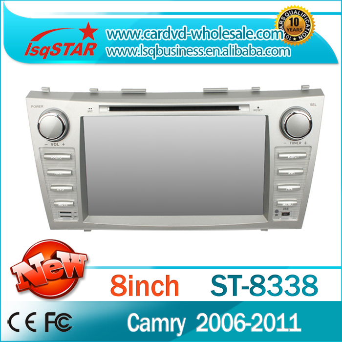 Car DVD Player for Toyota Camry(2007-2011) with GPS Navi DVD Radio 3G 6CDC BT IPOD AUX Multi-language Very Stable System!(China (Mainland))