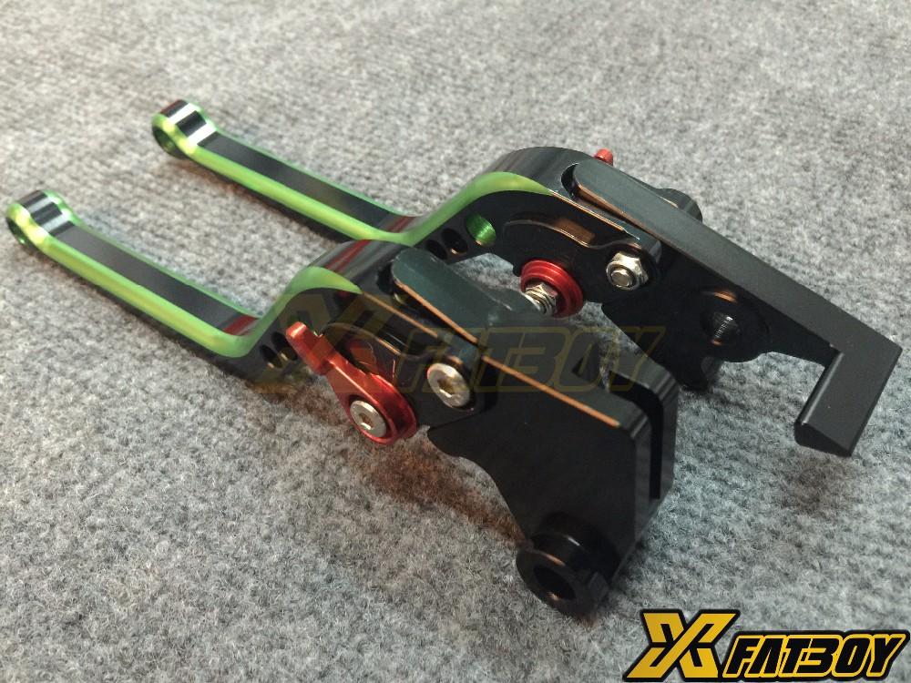 Extended color brake lever clutch brake lever for Yamaha Suzuki Kawasaki BMW R1 R6 TMAX530 Z800 Z750 Z1000 GXSR600 750 S1000R