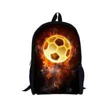 2015 Hot Children Football Star Backpacks For Boys Kids Soccer School Backpack Bag Girls Sport Bagpack Men's Travel Bag Mochila