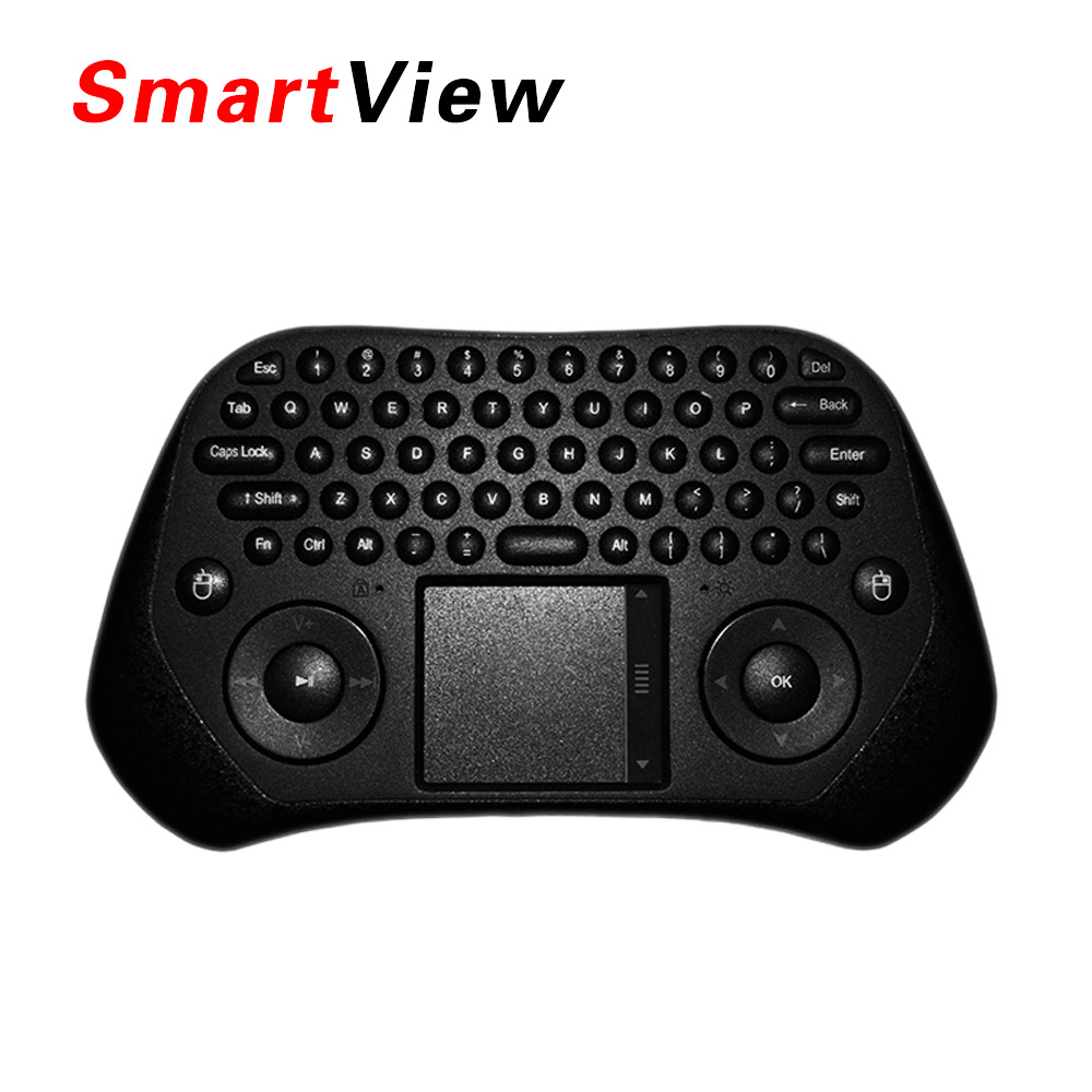 Original Measy GP800 Keyboard Tochpad TV Air mouse QWERY Touchpad Handheld Keyboard for TV BOX Laptop Mini PC as i8 keyboard(China (Mainland))