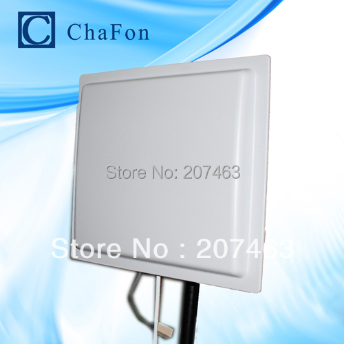 15M uhf rfid long range reader with TCP/IP/Wiegand/RS232/RS485 provide free sample cards(China (Mainland))