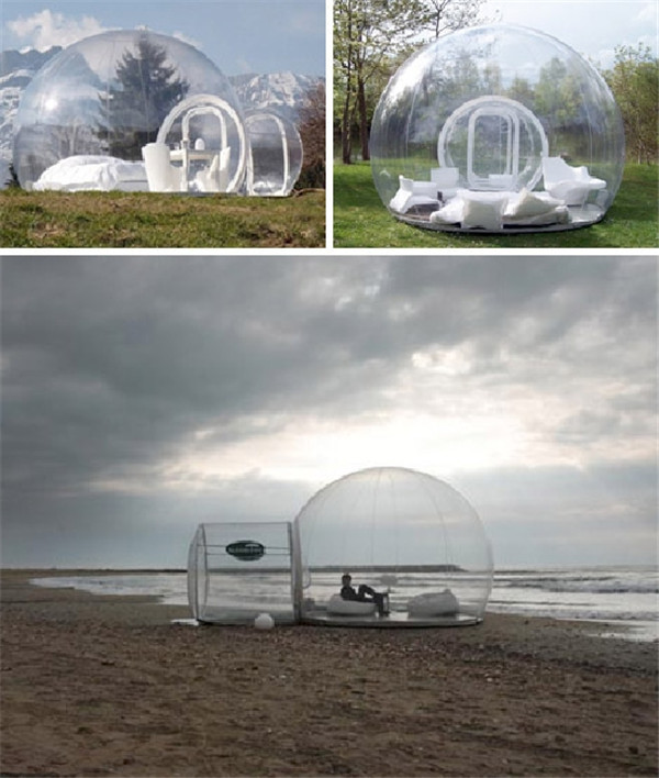 Hot transparent inflatable lawn bubble tent, bubble tree inflatable camping tent camping equipment inflatable beach tent(China (Mainland))