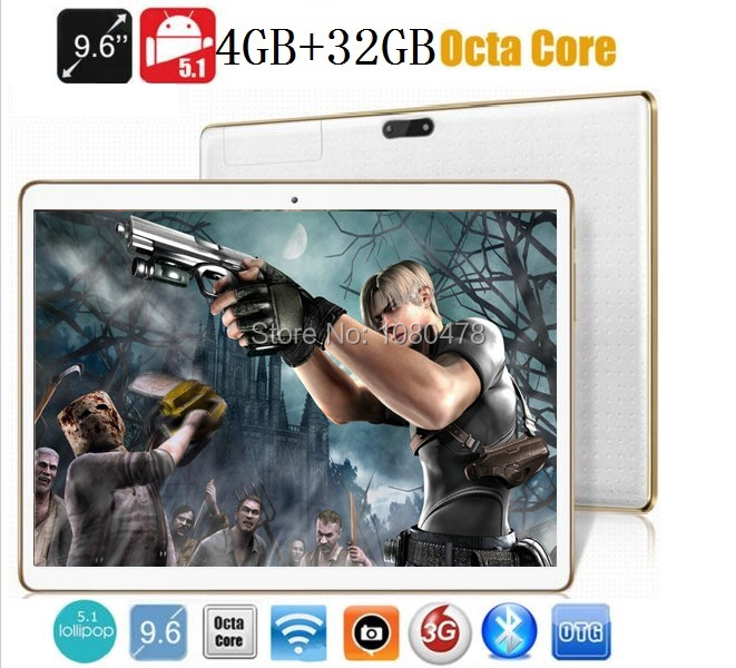 Tablet pc 9.6 inch 3G 4G LTE Octa core bluetooth wifi GPS 1280*800 5.0MP 4GB 32GB Android 5.1 7 9 10 tablet DHL Free shipping(China (Mainland))