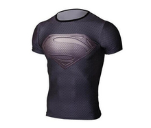 Buy NEW 2016 Captain America Fitness T shirt superman breathable t-shirt men Workout clothes free for $7.17 in AliExpress store