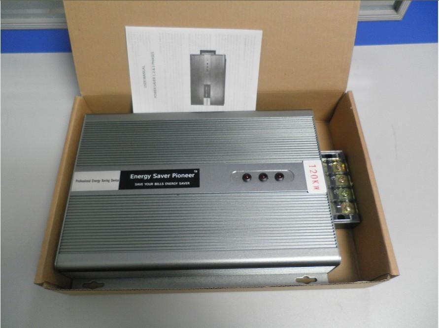 120KW Three Phase Energy Saver Electricity Saving box Electric power saver Energy saver Device Free Shipping(China (Mainland))