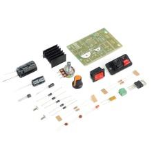 In stock! AC/DC Input 5V-35V to 1.25V-30V Step Down Power Supply Module LM317 DIY Kit Newest(China (Mainland))