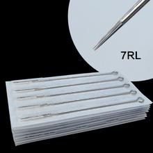 50pcs 7RL line shut Sterile Disposable Machine Needles Supplies tattoo needles #84373(China (Mainland))