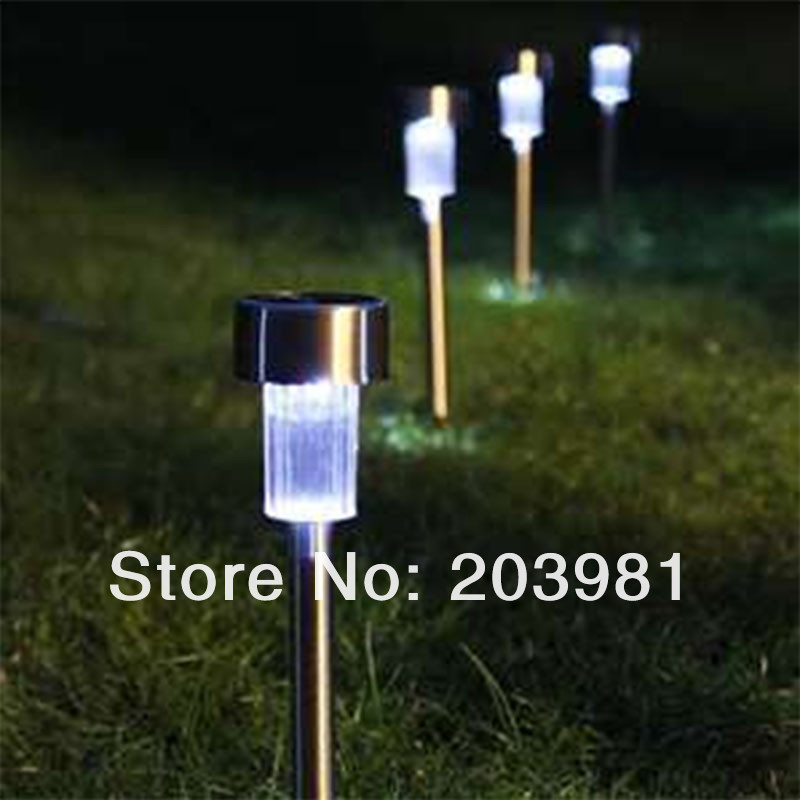 Buy New Waterproof Outdoor Stainless Steel Solar Lawn Light For Garden