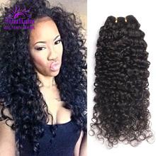 Mink Brazilian Curly Virgin Hair 3Pcs Brazilian Virgin Hair Deep Wave Vip Beauty Kinky Curly Virgin Hair Human Hair Weave Curly(China (Mainland))