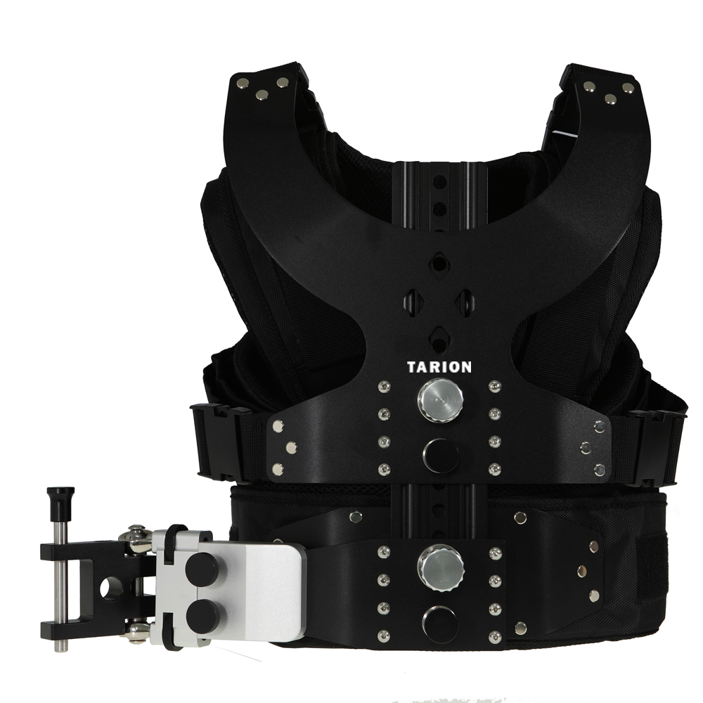 TARION New Load Vest Steady Rig Stabilizer Rig Double Arm DSLR Camera Video Support SLR