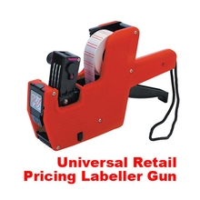 New Arrival Pricing Machine Price Label Tag Marker Pricing Gun Price Labeller For Supermarket Store Color Random (China (Mainland))