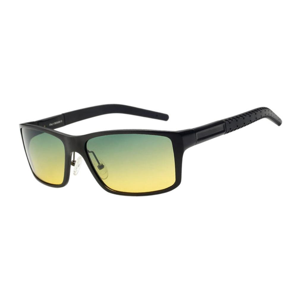 S8554-121-B Eyekepper Spring Hinge Aluminum Day/Night Vision Driving Polarized Sunglasses(China (Mainland))