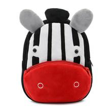 Плюшевые детские рюкзаки сумки для детского сада, школы милые сумки для детей модели животных школьные сумки для мальчиков девочек Прямая д...(China)