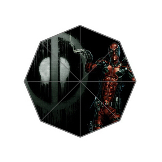 Fashion Design Umbrella Custom Comics Role Deadpool Umbrella For Man And Women Free Shipping High quality 0377(China (Mainland))