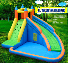 Family Outdoors  Climb and slide Inflatable Bouncer  Jumping House Kids Child Playground(China (Mainland))