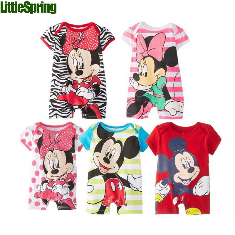 Baby Rompers! New 2014 arrival cotton toddler Romper Cartoon pattern front chest five colors in stock Little spring GTJ-L0059<br><br>Aliexpress