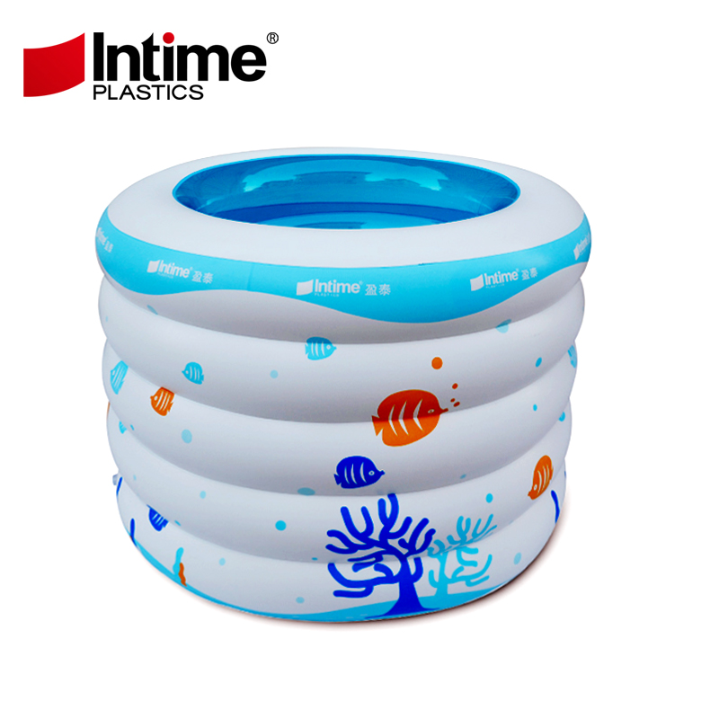 Baby swimming pool inflatable ball pool Queen of the sea baby bucket infant boys circular pool(China (Mainland))