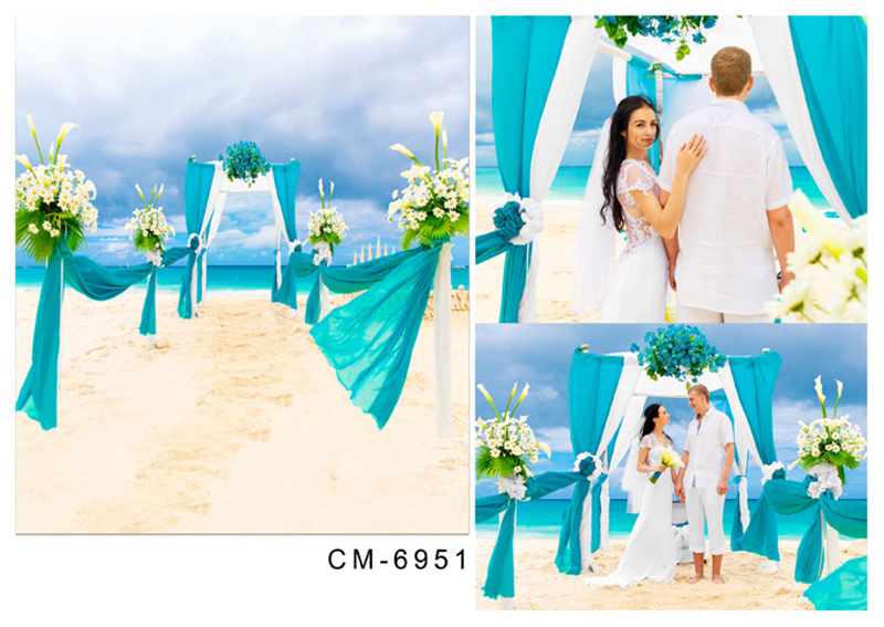 200*300cm(6.5*10ft) Beach Wedding Background Sky3ds Funds for studio Romantic wedding Fresh stylestudio for Photos<br><br>Aliexpress