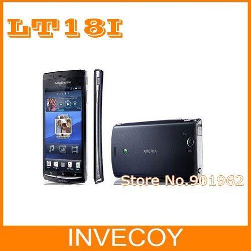 2pcs/lot Original Sony Ericsson Xperia Arc S LT18 LT18i unlocked mobile phone Android WIFI 3G 4.2 Screen 8MP freeship(China (Mainland))