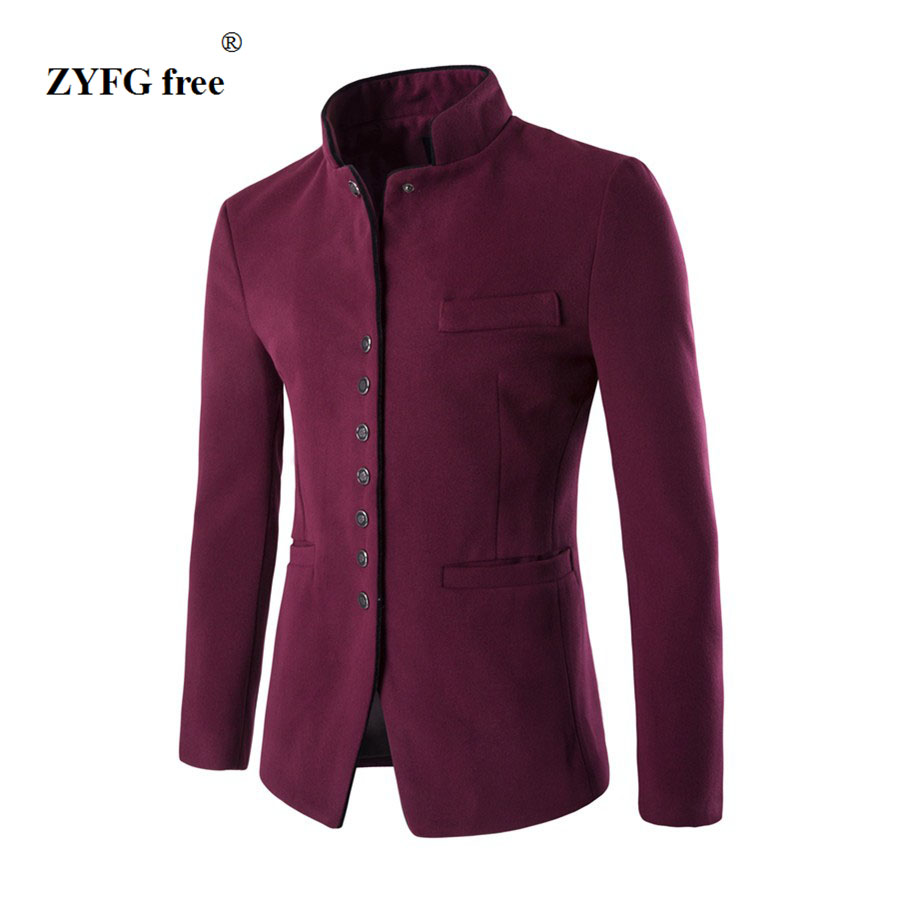HTB1LQ2EQpXXXXcsXFXXq6xXFXXXL - 2017 new spring autumn winter free style Men's cloth leisure single-breasted favors Chinese tunic suit jackets Casual suit