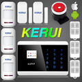 KR 8218G Russian English French Spanish Voice Latest Android Dual Net Touch keypad Color Display Dual