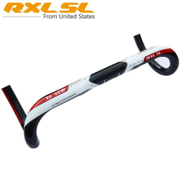 RXL SL Full Carbon Fiber Road Bicycle Carbon Handlebar 3K Gloss Carbon Compact Handlebar Road Drop Bar 400/420/440mm RX1137(China (Mainland))