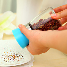 H0002 kitchen supplies seasoning bottle manual pepper grinder grinding tank tool size(China (Mainland))