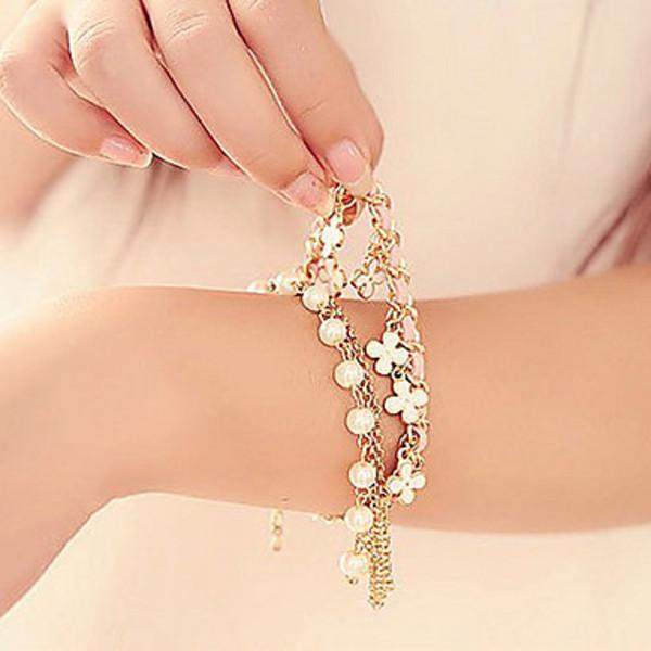 EastSun Z&X Alloy Fabric Bracelet Charm Bracelets Party Daily Casual #(China (Mainland))