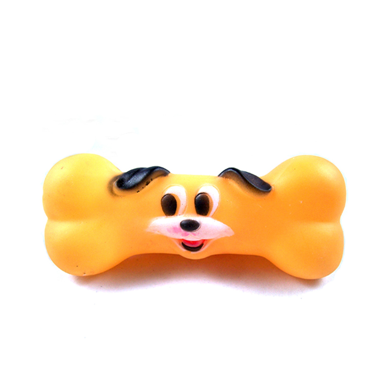 Free shipping Dog Pet face bones Sound Dog Toys limit Small dogs and cats Limit amused bite ban(China (Mainland))