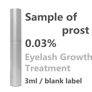 Eyelash enhancer Bima 0.03% Famous brand sample blank label top - prost serum 100% original 3ml eyelash growth serum