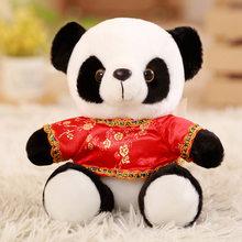 Tamanho grande Panda Bonito Dos Desenhos Animados Urso Animal de Pelúcia Brinquedos de Pelúcia Para O Bebê Infantil Bonito Macio Boneca Linda Boneca de Presente Presente brinquedos para crianças(China)
