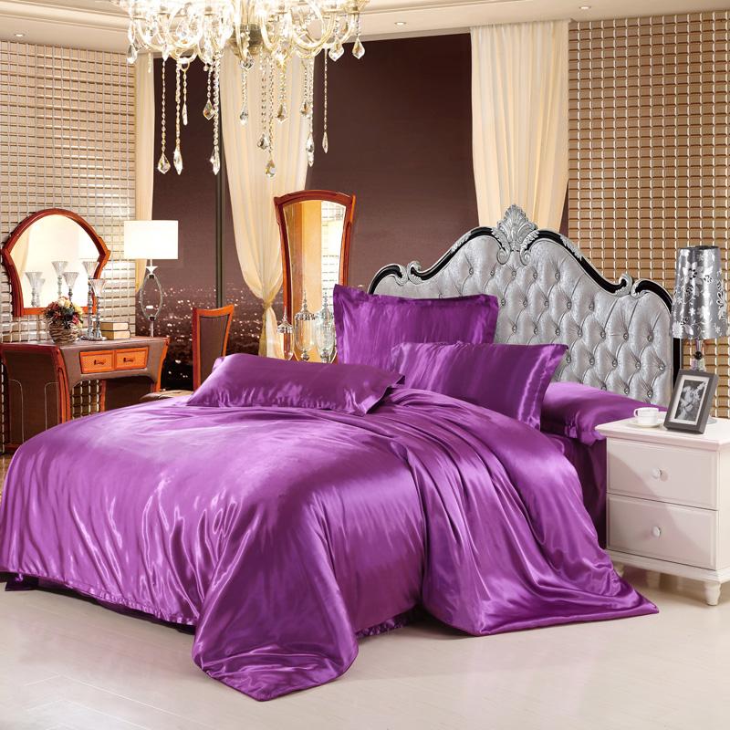 violet couette couvre promotion achetez des violet couette couvre promotionnels sur aliexpress. Black Bedroom Furniture Sets. Home Design Ideas