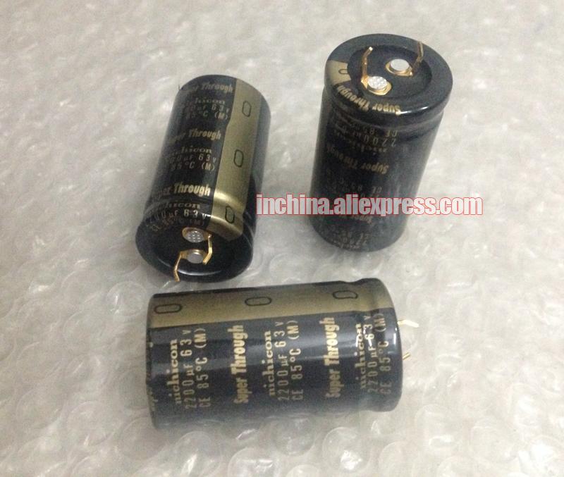 6 Pcs Japan ELNA 2200UF//16V  SILMIC II Series High-END HIFI Audio Capacitor CAP