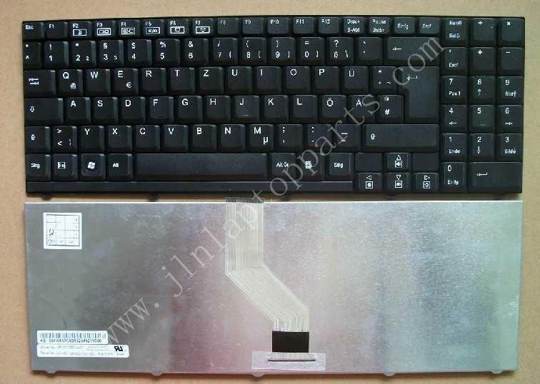 New GR Layout Keyboard For Medion Akoya p661x P7614 MD96640(China (Mainland))