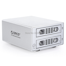 ORICO 3529NAS  2-bay all aluminum alloy Network Attached Storage,support 1~2 HDD,capacity reach up to6TB*2=12TB, Silver(China (Mainland))