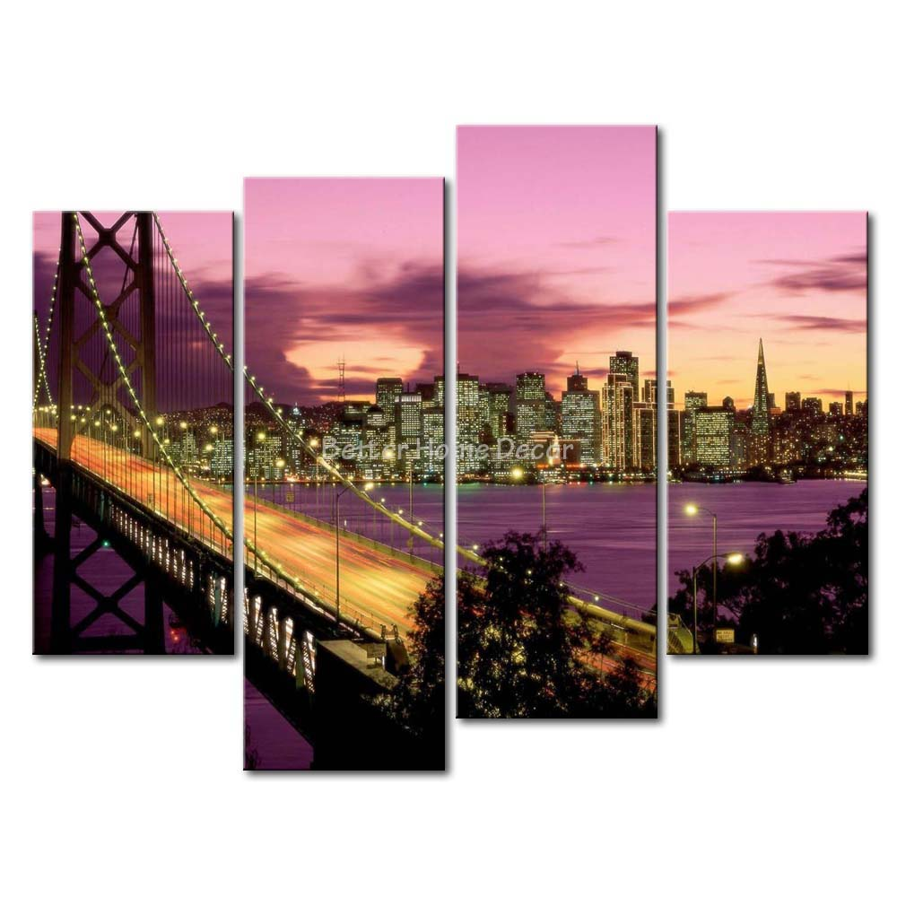 Entrancing 30+ San Francisco Wall Art Decorating Inspiration Of San .