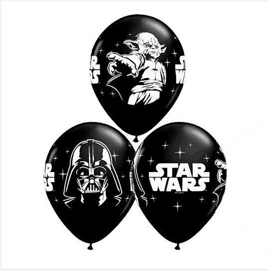 Free shipping 6000pcs/lot 2.8g 12inch Children's Toys Halloween Decoration Star Wars latex Balloons Helium inflatable Balloon(China (Mainland))