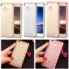 Buy Luxury Plating Gold TPU Mirror Phone Case Xiaomi Redmi 3S 3 S Back Cover Redmi 3 PRO Protective shell Redmi 3S for $1.43 in AliExpress store