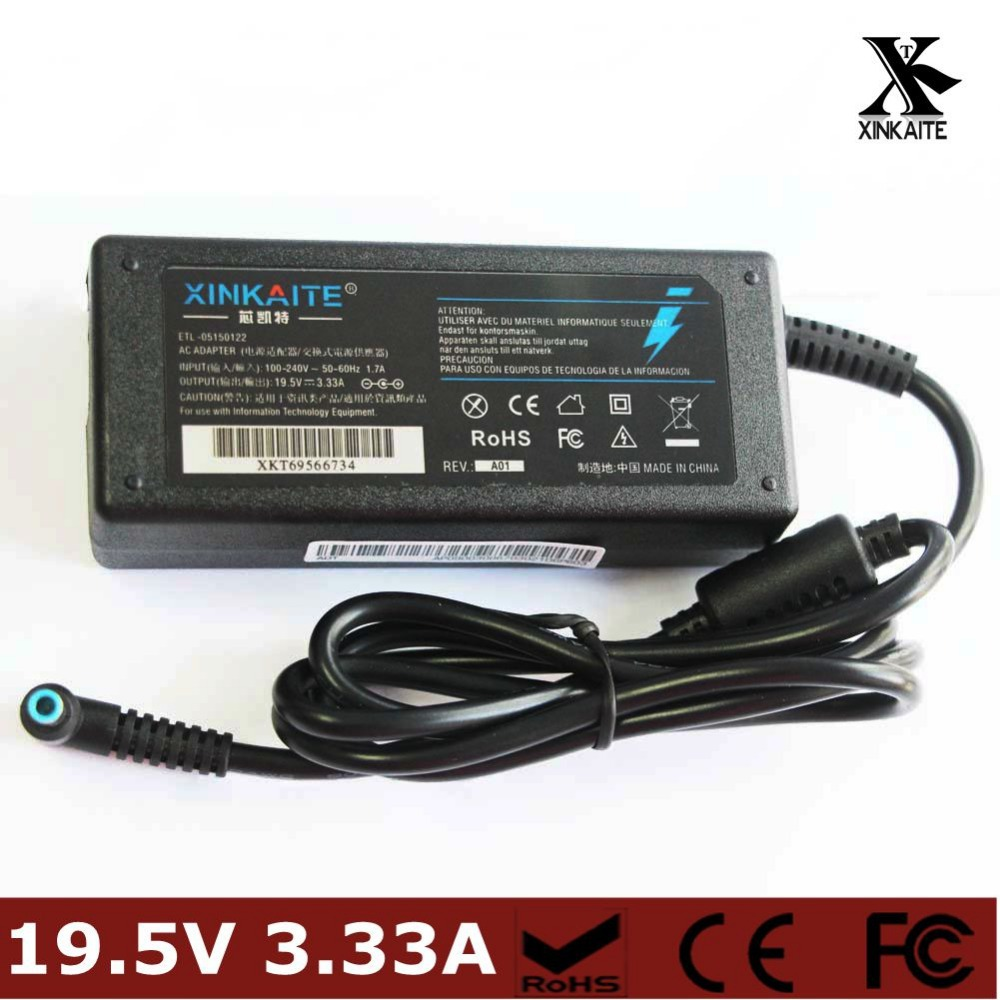 Xinkaite New Style AC Power Charger Adapter 19 5V 3 33A 4 5MM 3 0MM For