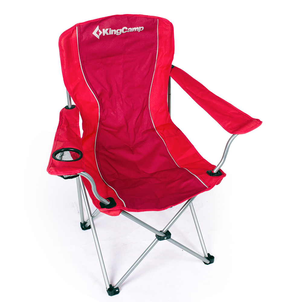 Red Portable Folding Outdoor Chair Camping Seat Picnic Beach Lawn Barbecue(China (Mainland))