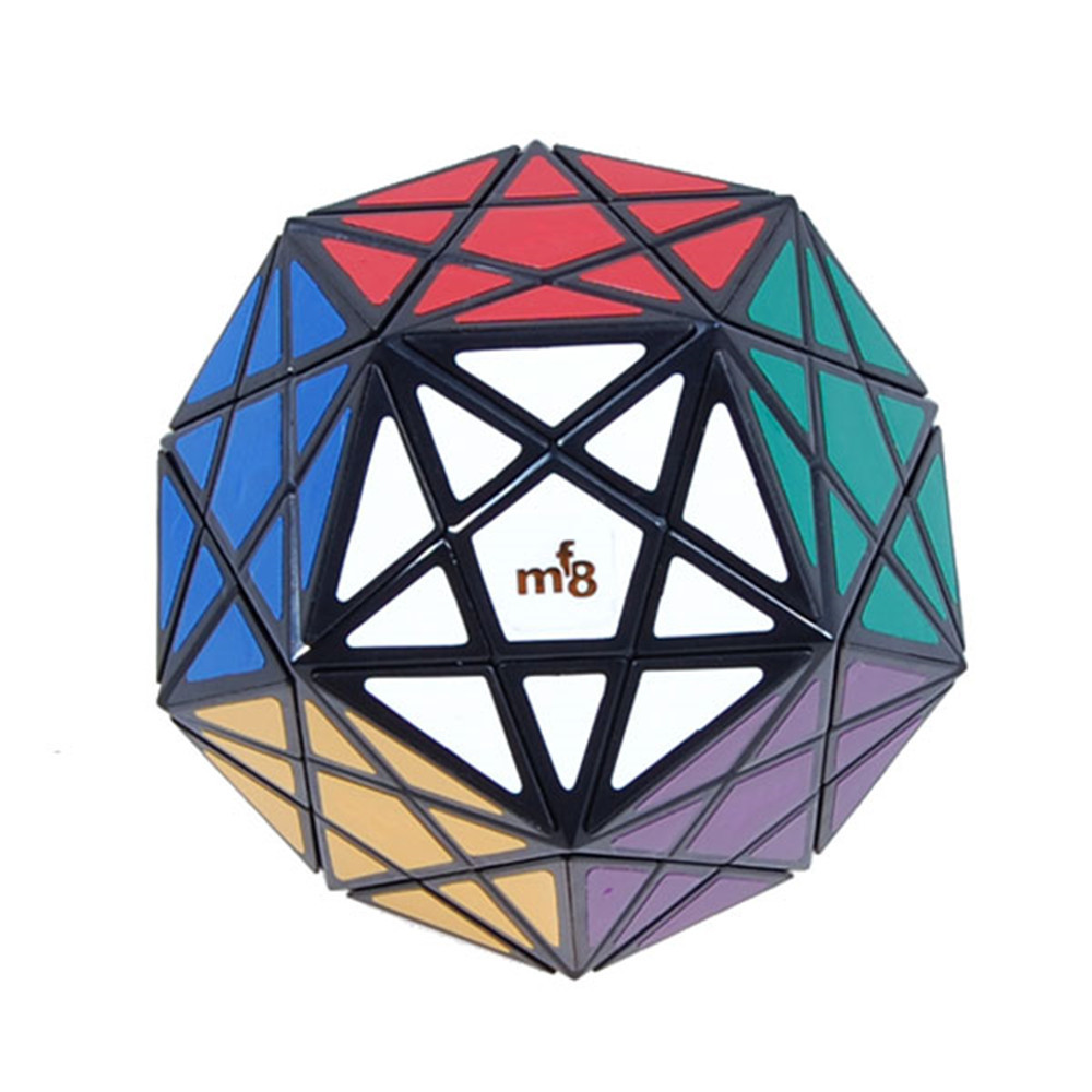 MF8 Starminx Corner Turning Dodecahedron Megaminx Magic Cube Speed Puzzle Cubes Toys For Kids - Black<br><br>Aliexpress