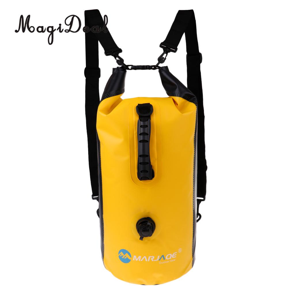 MagiDeal 30L Waterproof Dry Bag Backpack Camping Floating Boating Water Sports Canoe Kayak Drift Dinghy Yacht Accessories