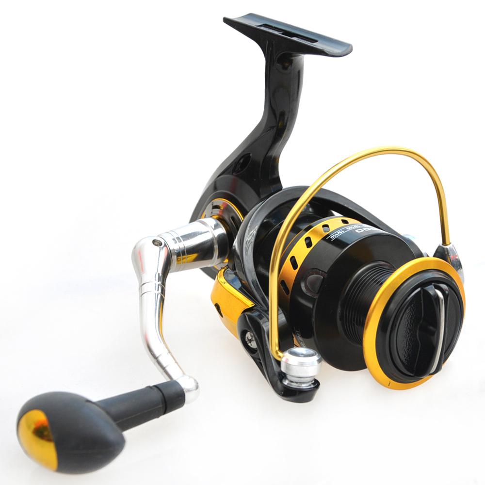 Buy 3000 5000 spinning reel 4 8 1 carretilha pesca 6 1bb for Carp fishing reels