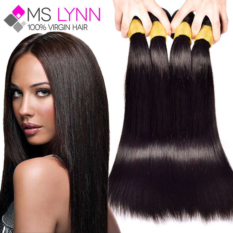 Brazilian Virgin Hair Straight Hot Selling Brazilian Straight Hair Bundles 8''-30'' Cheap Brazilian Virgin Hair Extension