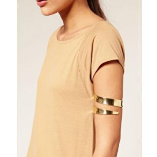 Мода ювелирных изделий последние плечи браслет и браслет манжеты золотой и серебряный ...