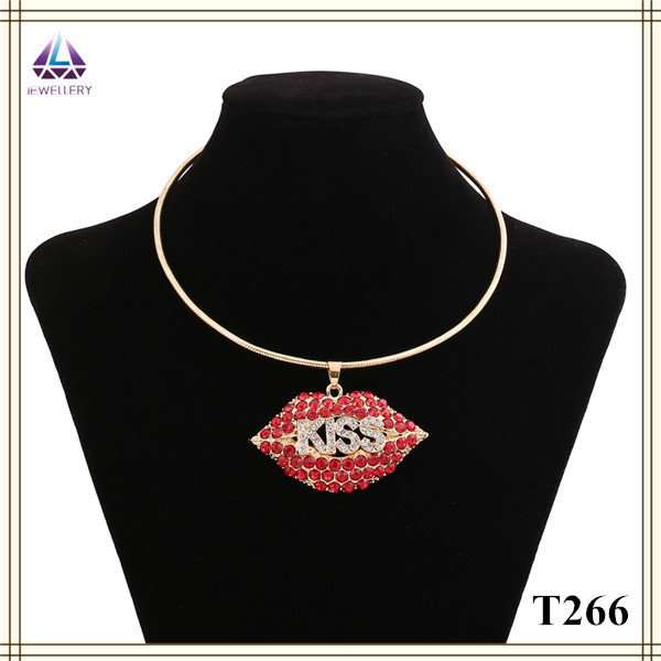 China Factory Products The Latest Design Gold Shoulder Necklace New Style Chain Types For Women(China (Mainland))
