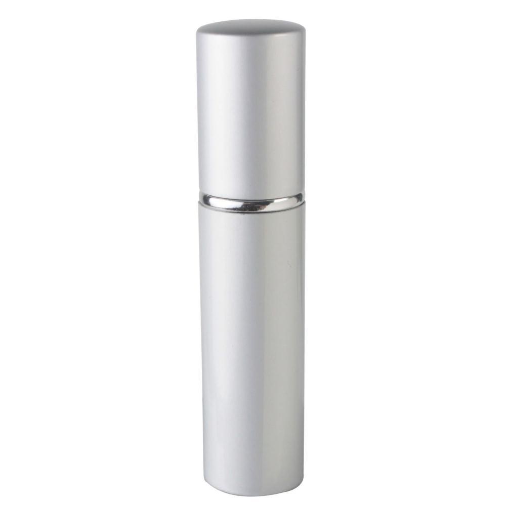 Good Deal ! Silver Refillable Travel Size Perfume Bottle Spray, 12ml .41oz(China (Mainland))