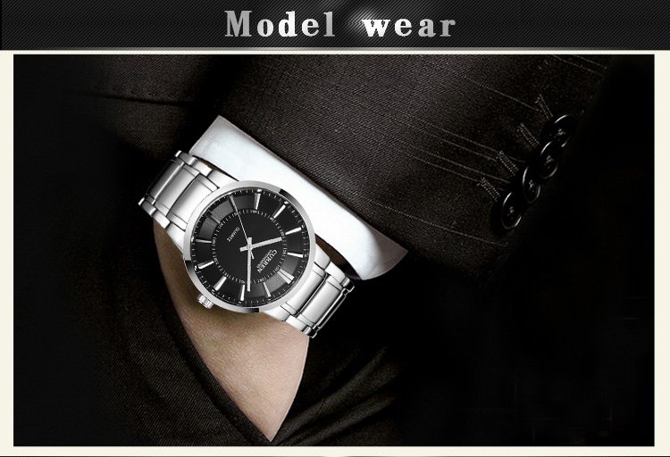 CURREN Men watch men Business Quartz Watches Top Brand Luxury Military Wristwatches Leather Sports Masculino 8001b